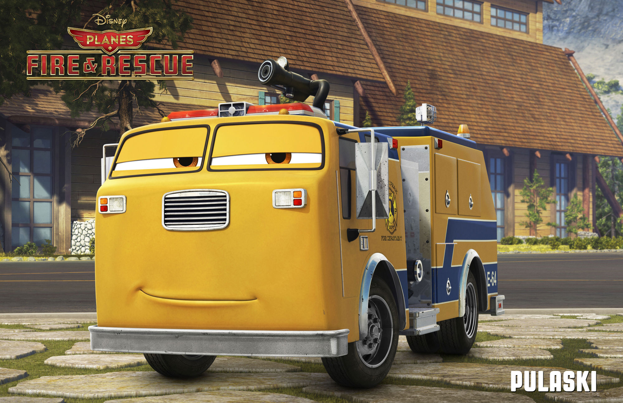 /Film'Planes: Fire And Rescue' Trailer #3 Plus New Characters and Voices Revealed