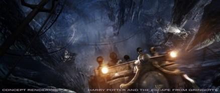 Potter Diagon Concept Gringotts