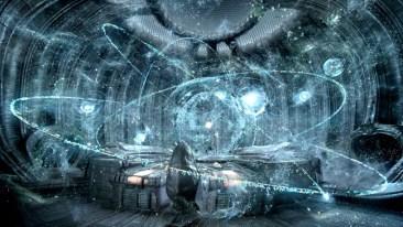 Prometheus still - star field