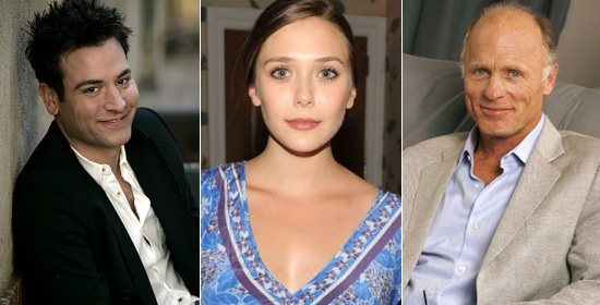 Josh Radnor, Elizabeth Olsen, Ed Harris
