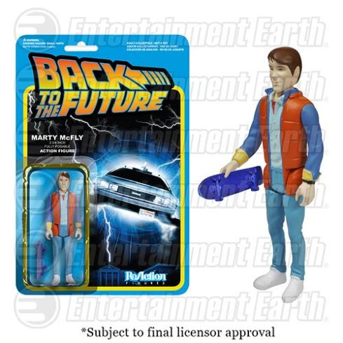 ReAction Back to the Future Marty