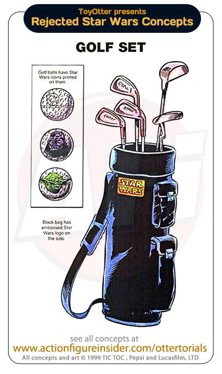 Rejected Star Wars - Golf Set