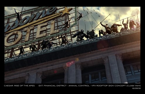 Rise of the Planet of the Apes Concept Art