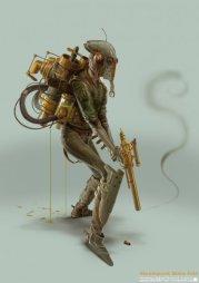 Steampunk Boba Fett