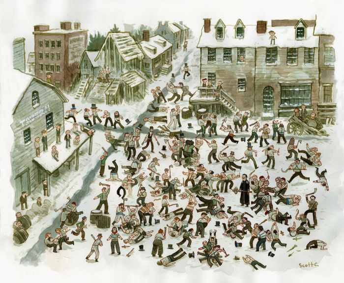 Scott Campbell - Gangs of NY