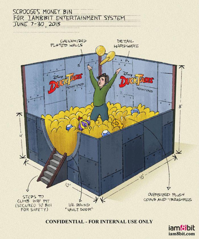 Scrooge's Money Bin Blueprint