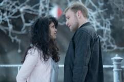 Sense8 season 2 - Tina Desai as Kala Dandekar and Max Riemelt as Wolfgang Bognadow