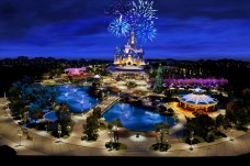 Shanghai Disneyland model