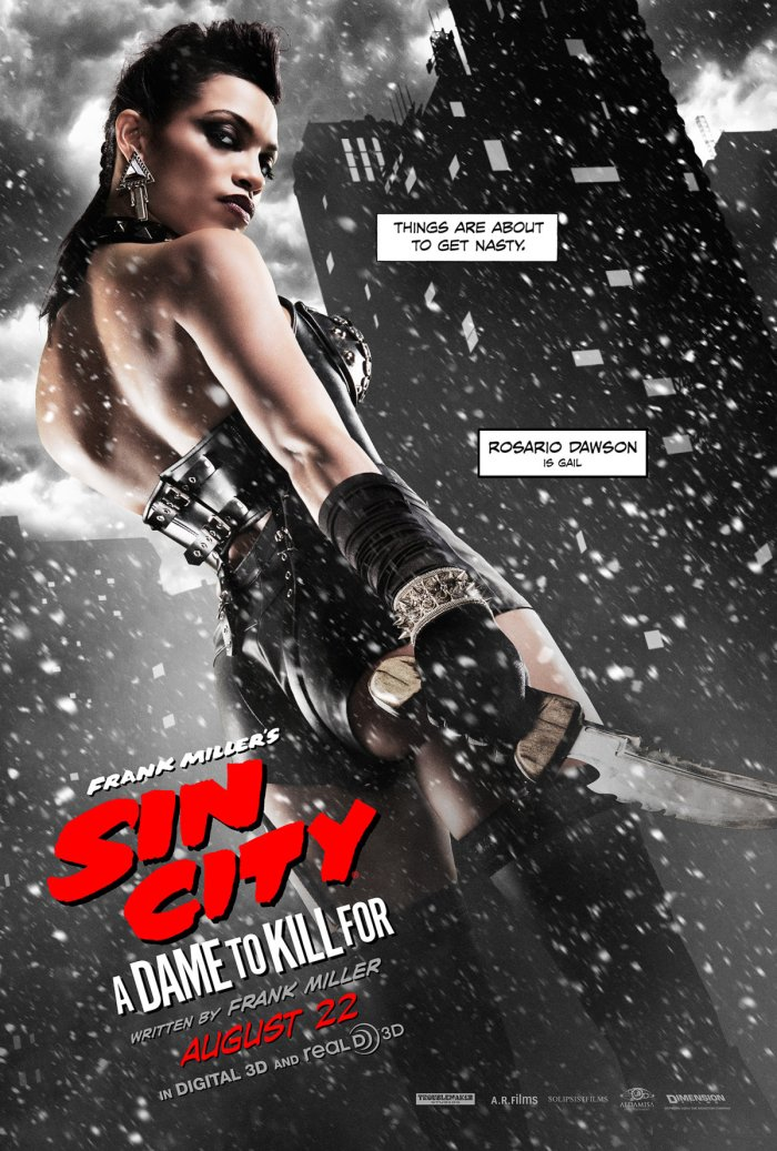 Sin City A Dame to Kill For - Gail poster