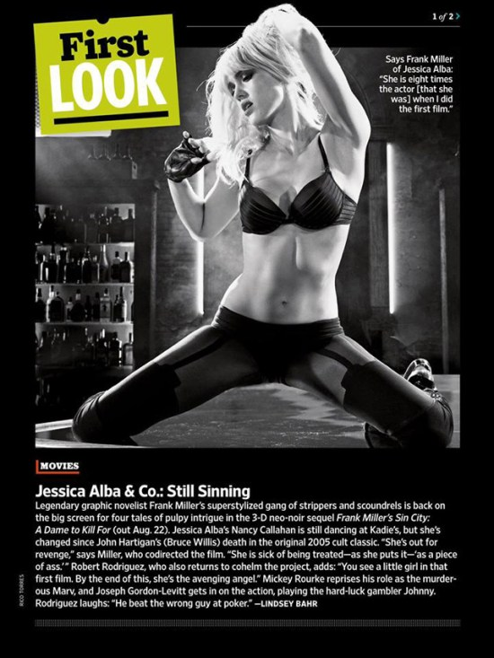 Sin City A Dame to Kill For - Jessica Alba