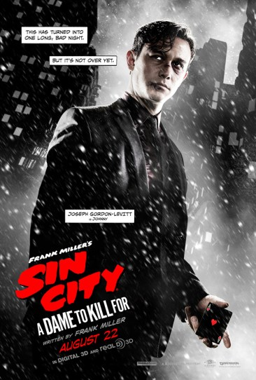 Sin City A Dame to Kill For - Johnny poster