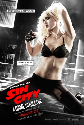 Sin City A Dame to Kill For - Nancy poster