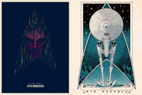 Star Trek Into Darkness Fan Poster Header