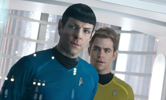 Star Trek Into Darkness - Spock and Kirk (header size)