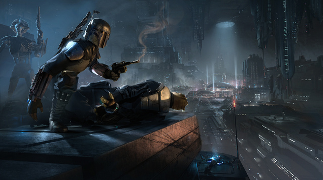 Star Wars 1313 Concept Art 2
