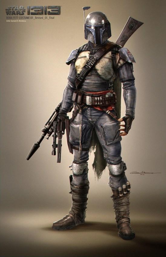 Star Wars 1313 Concept Art 7