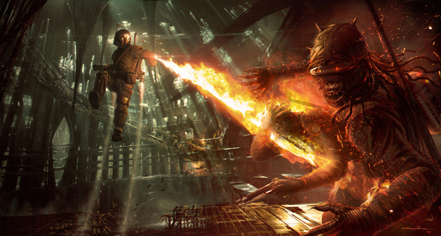 Star Wars 1313 Concept Art 9