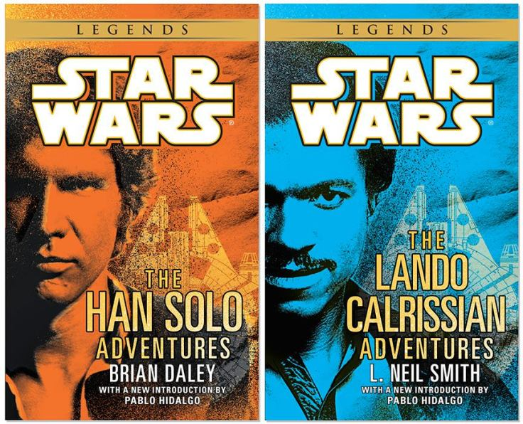 Star Wars Legends covers