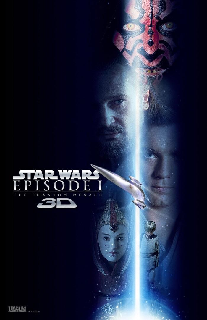 Star Wars Phantom Menace 3D 1