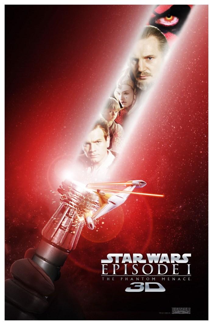 Star Wars Phantom Menace 3D 2