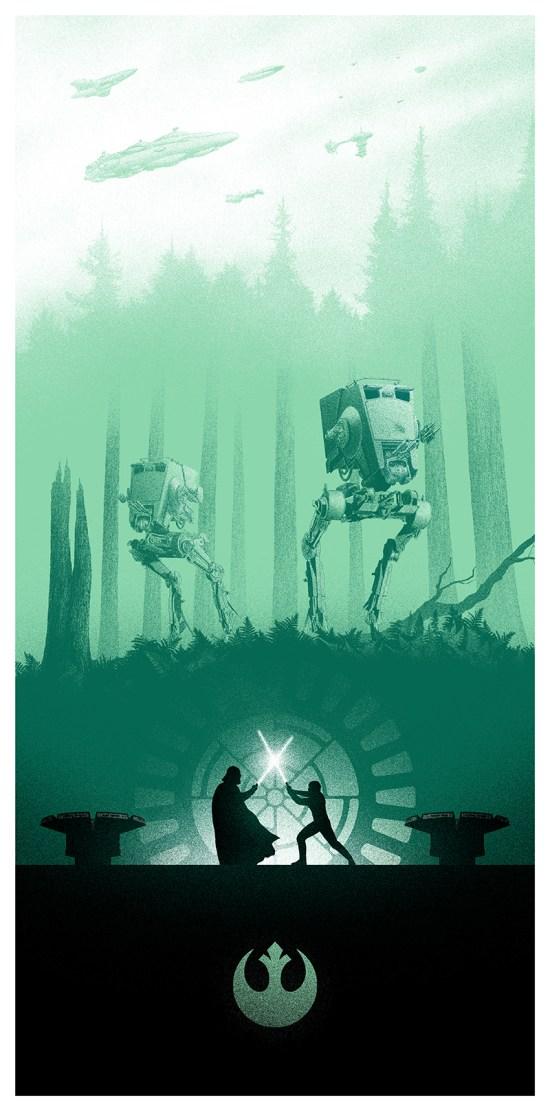 Star Wars Return of the Jedi by Marko Manev