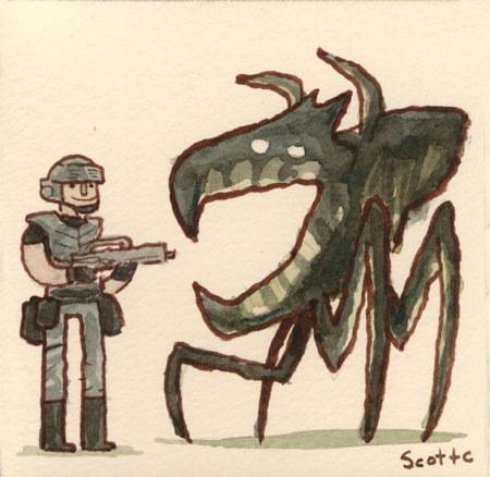 Starship Troopers 2 - Scott C