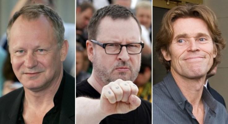 Stellan Skarsgard / Lars von Trier / Willem Dafoe