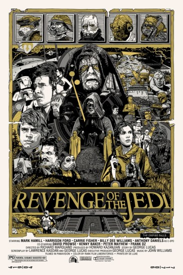 Tyler Stout Revenge of the Jedi Variant