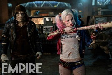 Suicide Squad - Croc and Harley Quinn