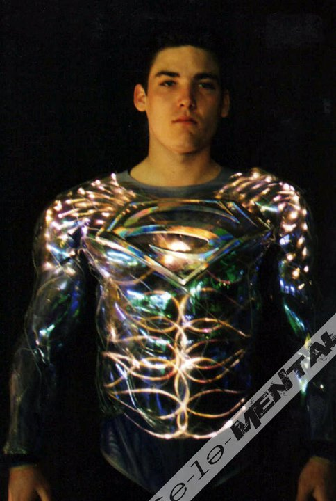Tim Burton Superman Lives Costume Test 5