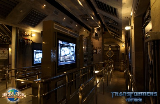 Transformers The Ride NEST Preshow