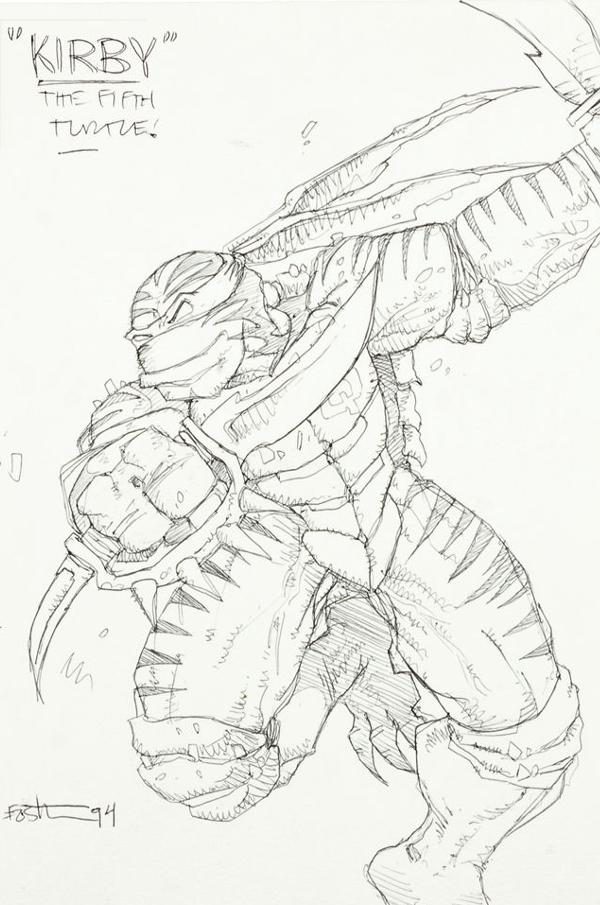 TMNT 4 Concept 1