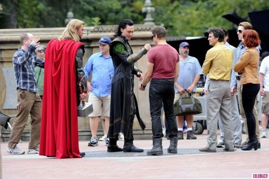 The Avengers Central Park 4