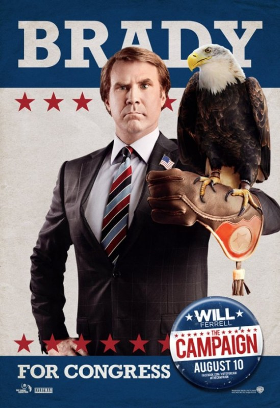 The Campaign Ferrell poster