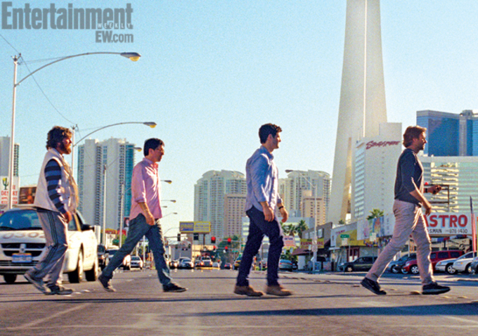 The Hangover Part III - the wolf pack in Las Vegas
