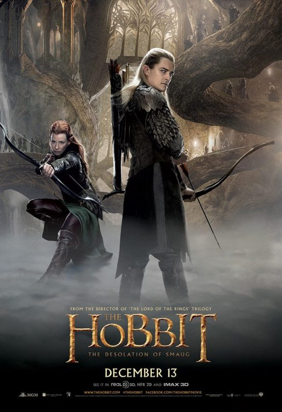 The Hobbit The Desolation of Smaug - Legolas and Tauriel