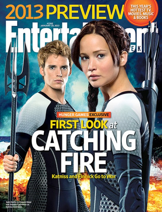 The Hunger Games Catching Fire - EW cover