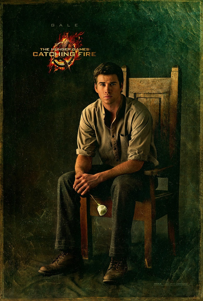 The Hunger Games Catching Fire - Gale portrait