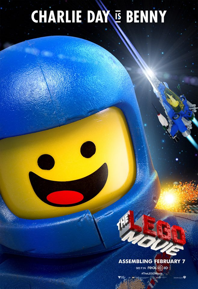 The Lego Movie poster - Benny