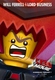 The Lego Movie poster - President Business