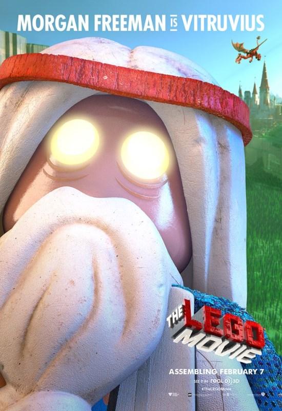 The Lego Movie poster - Vitruvius