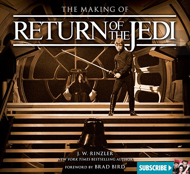 The Making of Star Wars Return of the Jedi - cover