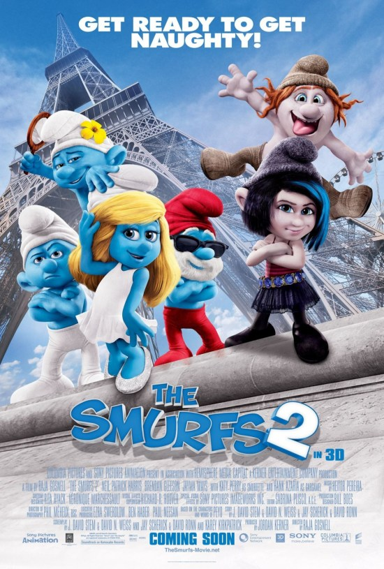 The Smurfs 2 poster 3