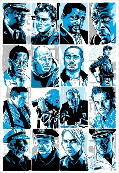The Wire (Blue)