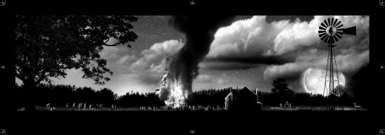 Mark Englert - Walking Dead variant Dark