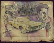 Todd Spence - Evil Dead