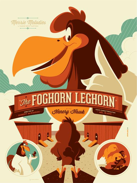 Tom Whalen - Foghorn Leghorn Var