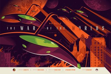 Tom Whalen War of the Worlds