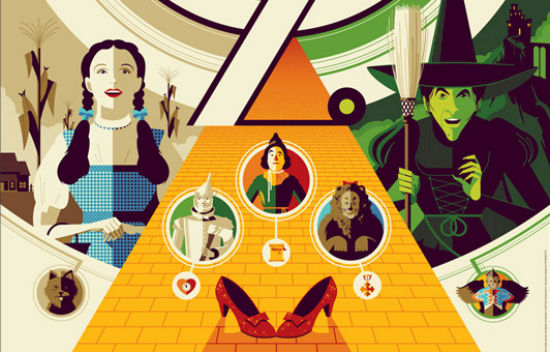 Tom Whalen - Wizard of Oz header
