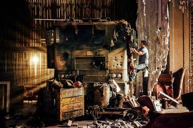 Transformers 4 Mark Wahlberg Optimus